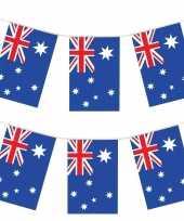 2x vlaggenlijnen australie 4 meter landen versiering