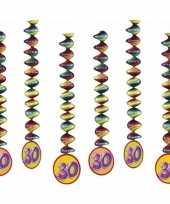 30 jaar versiering spiralen 10153303