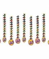 30 jaar versiering spiralen 10153304