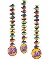 30 jaar versiering spiralen