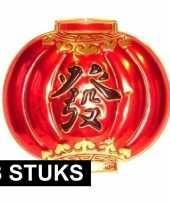 3x chinese wandversiering borden 54 x 60 cm