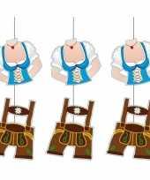 3x hangversierings lederhosen 70 cm oktoberfest