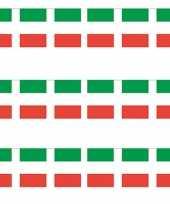 3x italiaanse versiering slingers