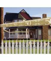 50 jaar versiering markeerlint
