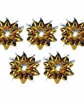 5x versiering kadostrikken goud met lichtje