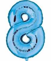 8 jaar versiering cijfer ballon 10062685