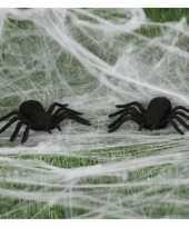 8x nep spinnen 10 cm halloween versiering