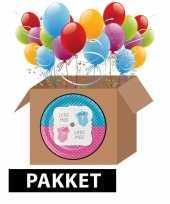 Babyshower onthulling versiering feest pakket
