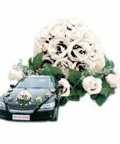 Bruiloft rozen versiering voor auto 10154048