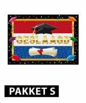 Diploma behaald versiering pakket