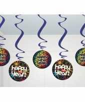 Discobollen hangversiering nieuwjaar