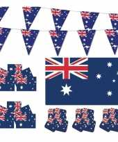 Feestartikelen australie versiering pakket 10114088