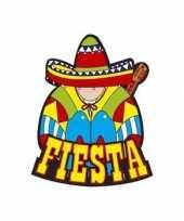 Fiesta versiering bord mexicaans feestje