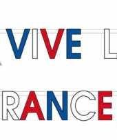 Franse versiering letterslinger