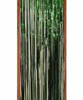 Groene versiering folie deurgordijn