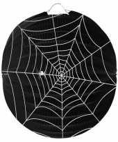 Halloween spinnenweb lampion 22 cm halloween versiering
