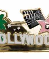 Hollywood muurversiering 60 cm
