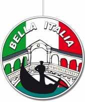 Kartonnen italie hangversiering 28 cm