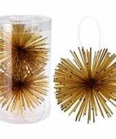 Kerstboom versiering kerstbol classic gold 11 cm
