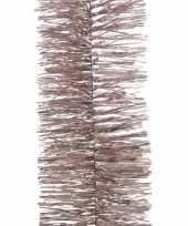 Lichtroze kerstslinger 7 x 270 cm kerstboom versieringen