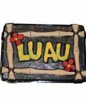 Luau versiering bord hawaii feest