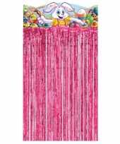 Paashaas versiering gordijn
