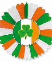 Ronde ierland versiering waaier