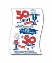 Toiletpapier rollen 50 jaar man verjaardagscadeau versiering versiering