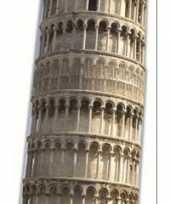 Toren van pisa versiering bord
