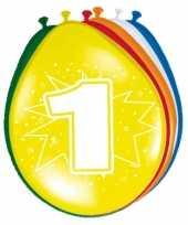 Versiering 1 jaar ballonnen 30 cm