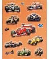 Versiering 3d raceauto stickers