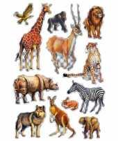Versiering afrikaanse diertjes stickers
