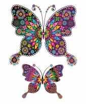 Versiering dieren tattoo vlinder