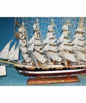 Versiering houten model schip preussen 50 cm
