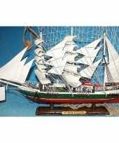 Versiering houten model schip r rickmers 50 cm