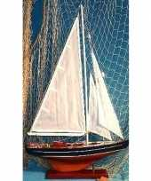 Versiering houten model zeilschip 65 cm