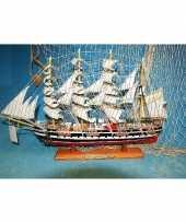 Versiering miniatuur zeilschip kruzenshtern 50 cm