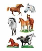 Versiering paarden stickers 3x