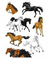 Versiering paardjes stickers