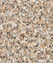 Versiering plakfolie graniet look natuurtinten 45 cm x 2 meter zelfklevend