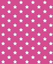 Versiering plakfolie roze met sterren 45 cm x 2 meter zelfklevend