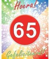 Versiering poster 65 jaar
