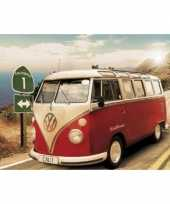 Versiering poster vw campers californie