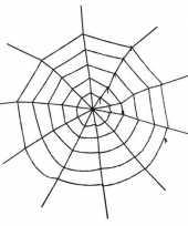Versiering spinnenweb groot 150 cm