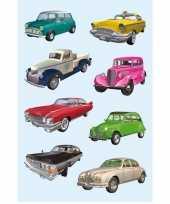 Versiering verzamel voertuigen stickers
