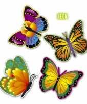 Versiering vlindertjes van karton