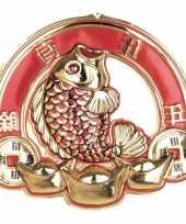 Wandversiering bord 3d chinese vis
