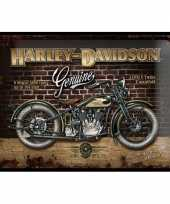 Wandversiering harley davidson 30 x 40 cm 10068592