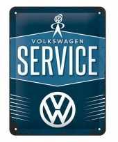 Wandversiering volkswagen service