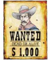 Western versiering posters